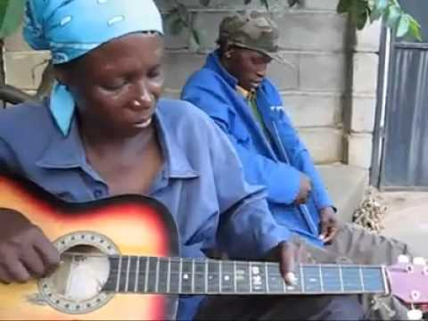 Sierra Leone Palm Wine Guitar Woman