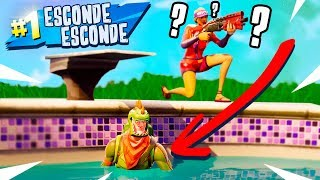Fortnite: ESCONDIDO NA PISCINA! (Esconde-Esconde)
