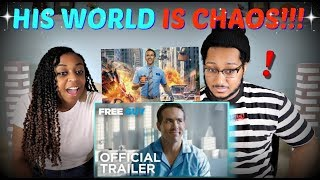 """Free Guy"" Official Trailer REACTION!!!"