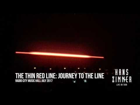 HANS ZIMMER LIVE: Radio City Music Hall July 2017- THIN RED LINE- Journey to the Line