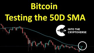 Bitcoin Tests The 50D SMA