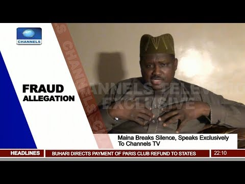 Maina Breaks Silence, Begs Buhari For Chance To Prove Innocence Pt.1 |News@10| 27/11/17
