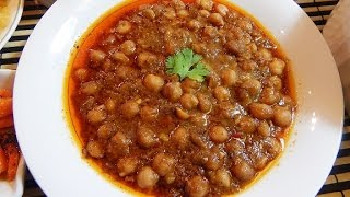 Choley ka Salan- Burns road Karachi ki Halwa poori