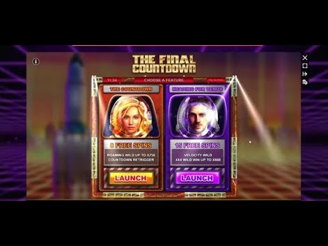 Sunday Slots with The Bandit - The Final Countdown, Reactoonz and More!