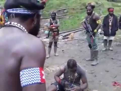 West Papua National Army caught Indonesian Spy in Tembagapura - 2017