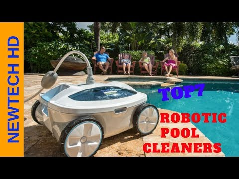 [TOP 7] robotic pool cleaner - ✅how to vacuum above ground pool: best robot pool cleaner t15