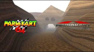 Mario Kart 64 Choco Mountain Mashup (64+DS)