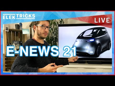E-News #21 Neues E-Auto Uniti One, Hyundai Kia 14 E-Autos, Thor Truck E-LKW, Husqvarna E-Bikes