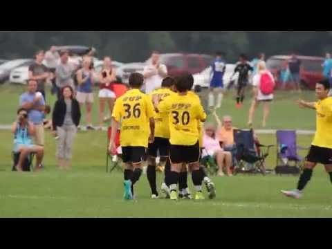 Cincinnati United Premier scores vs. Pachuca UPC - National Cup XIV Finals