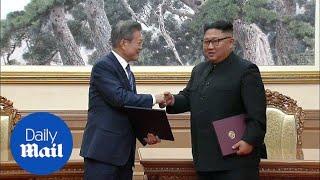 Korean leaders sign joint statement on inter-Korean relations