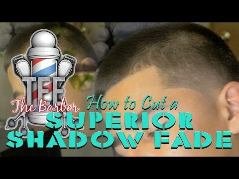 HOW TO CUT: SUPERIOR SHADOW FADE/ STEP BY STEP TUTORIAL HD/4K