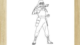 COMO DESENHAR O HASHIRAMA SENJU DE NARUTO /// HOW TO DRAW HASHIRAMA SENJU FROM NARUTO
