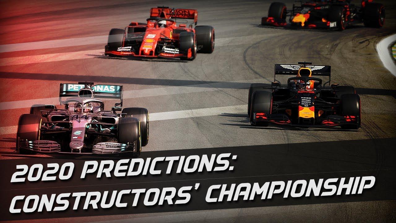 Predicting F1 2020: Constructors' Championship
