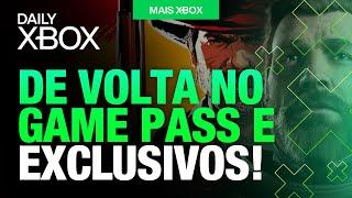 JOGO da ROCKSTAR de VOLTA no GAME PASS, DEMONSTRAÇÃO da THE COALITION e NOVOS EXCLUSIVOS!