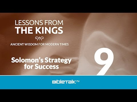 Solomon's Strategy for Success