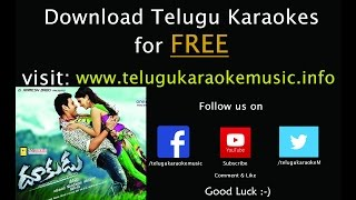 Poovai Poovai Antaado Auto Apparaao_Dhookudu_Telugu Karaoke Music