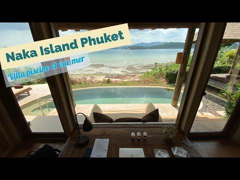 Naka Island Phuket - Villa avec piscine et vue mer