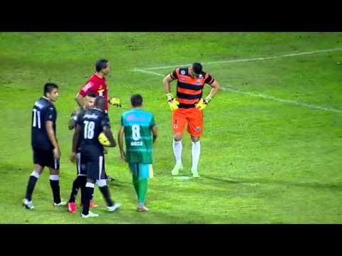 Os Gols - Botafogo 1 x 1 Coruripe - Copa do Brasil 28/04/2016