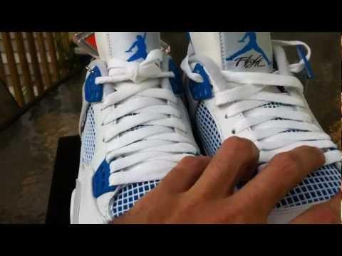 Air Jordan Retro 4 Military Blue Review