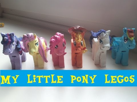 300 Sub special   my little lego ponies customs  based on lego     300 Sub special   my little lego ponies customs  based on lego horses