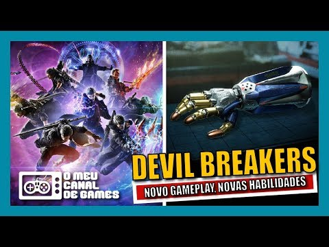 SAIU!!! NOVO GAMEPLAY COM TODOS OS DEVIL BREAKERS DO NERO [Devil May Cry 5]