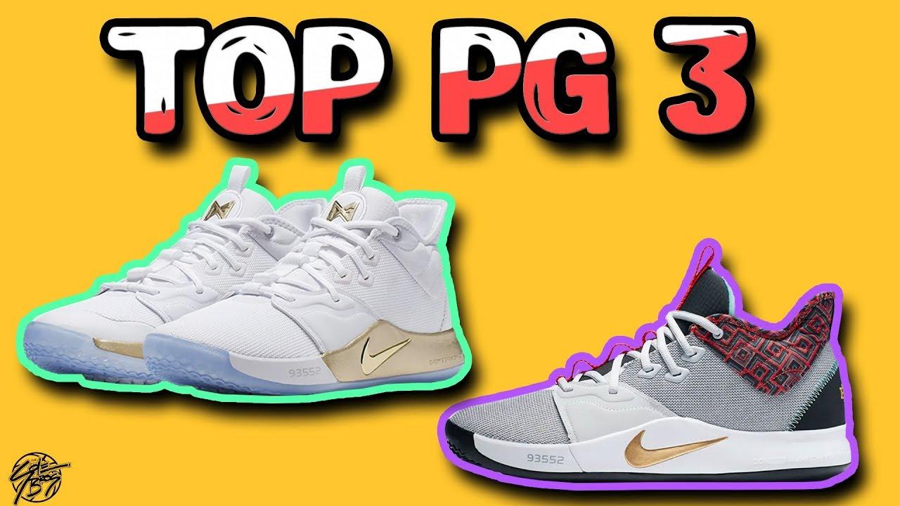 Top 10 Nike PG 3 Colorways! - YouTube