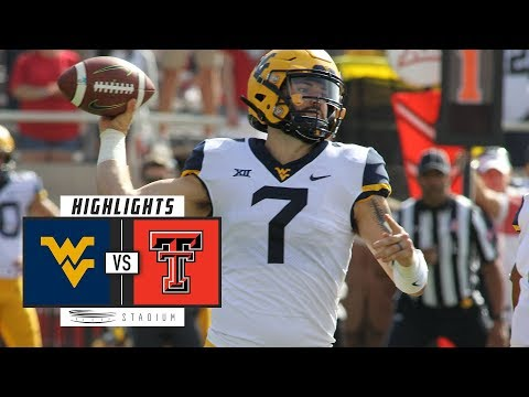 No. 12 West Virginia vs. No. 25 Texas Tech Football Highlights (2018) | Stadium