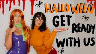 HALLOWEEN GET READY WITH US!!! | Sophia and Cinzia