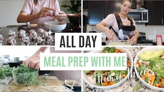 HEALTHY MEAL PREP WITH ME // MEAL PLANNING TIPS