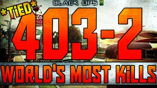 bo2 403 kills world s most kills in domination in cod history tied call of duty black ops 2