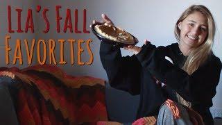 Lia Marie Johnson's Fall Favorites