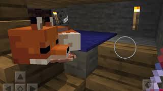 Minecraft foxes are so cute!