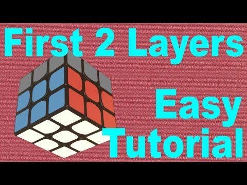 Beginner's F2L Rubik's Cube Tutorial [Simple & Detailed]