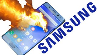 "Note 7 ""Exploding"" Battery 