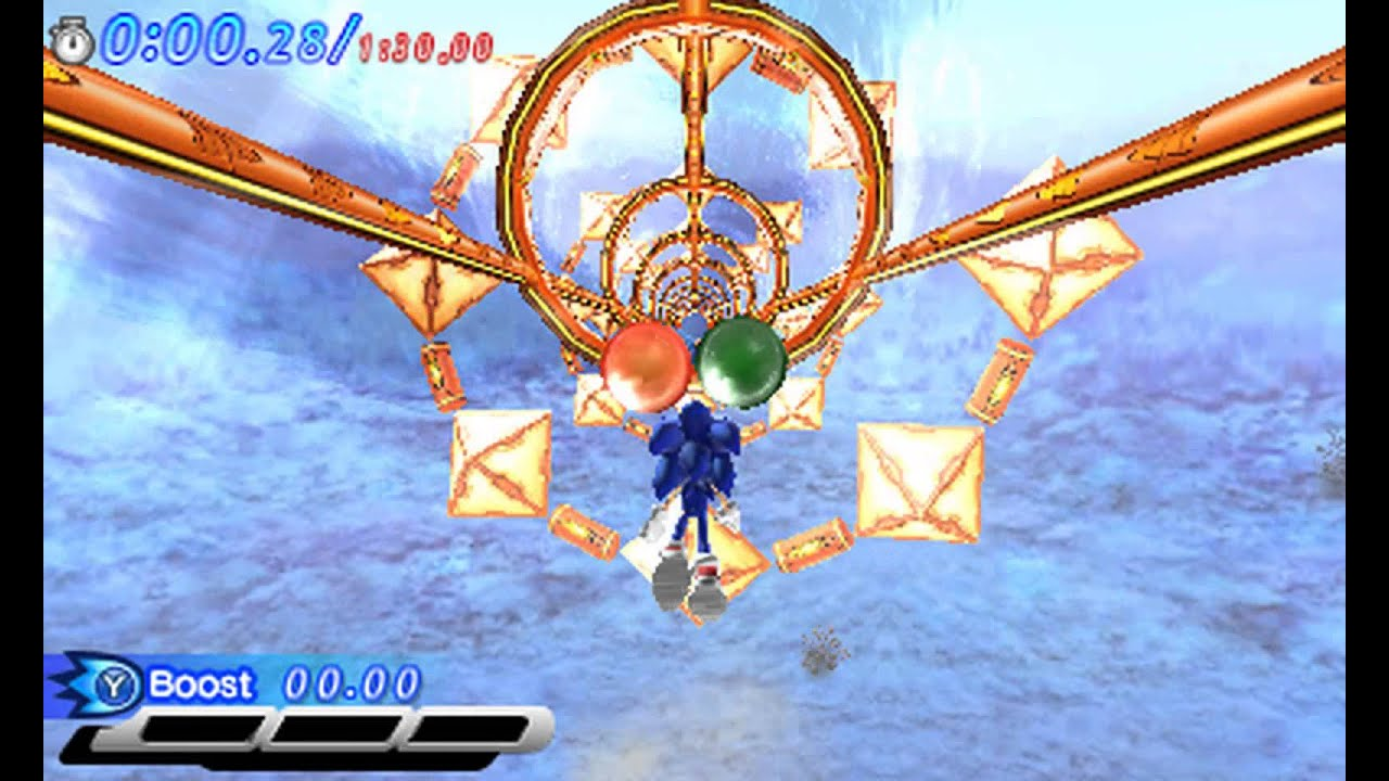 how to get super sonic in sonic generations 3ds