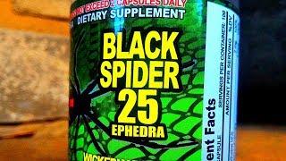 Жиросжигатель Black Spider-25 Ephedra Чёрный паук