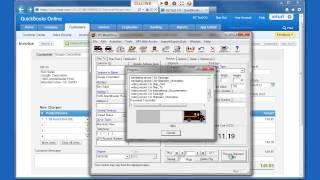OzLINK Pro for UPS - QuickBooks Online Shipping Demonstration