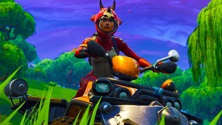 Fortnite-RED KNIGHT is BACK!! NEW CAR!! NEW SKINS & BRIEF!! Soils & Squads