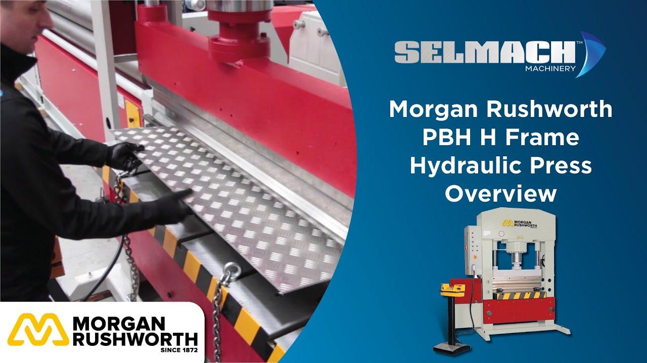 pbh h frame hydraulic press youtube