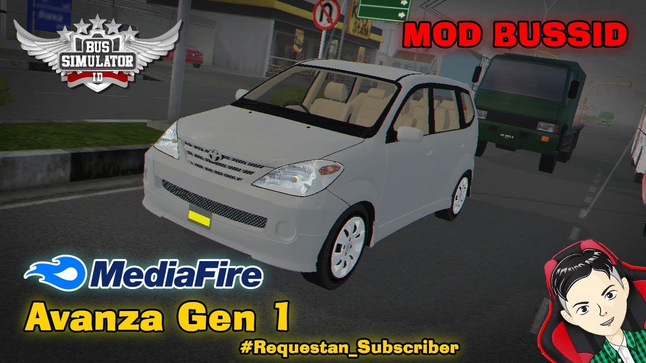 Share Mod Avanza Gen 1 Bussid Youtube