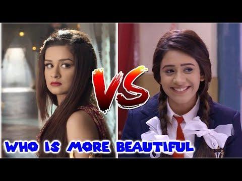 Yasmine(Aladdin) VS Ilaichi(JCPH) - Which actress is prettier? | Hiba Nawab | Avneet Kaur