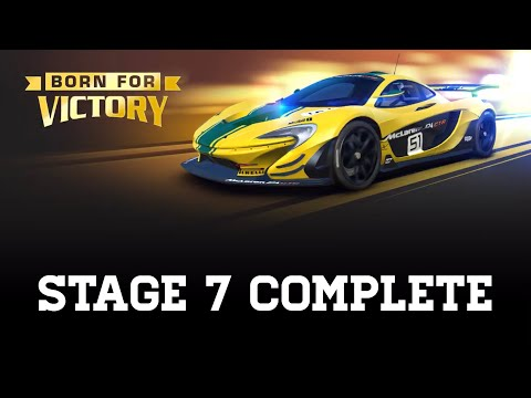 Real Racing 3 Born For Victory Stage 7 (Final) Upgrades 0000000 With Bot Management RR3
