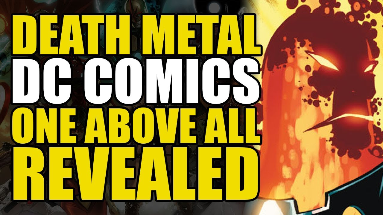 """DC Comics """"One Above All"""" Revealed: Dark Nights Metal The New Gods   Comics Explained"""