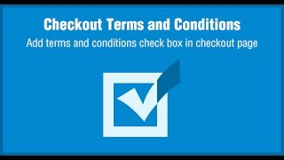 Odoo Checkout Terms and Conditions Apps by Biztech Store