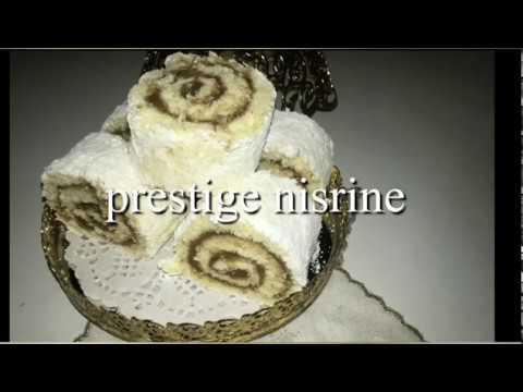 براصو-خطانو-الاسباني-🥰👍-recette-espagnole-:-gâteau-roulé-bras-de-gotan-à-la-crème-pâtissière