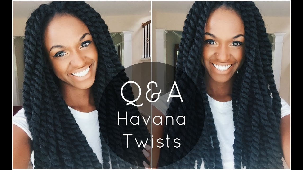 Crochet Havana Twists Nighttime Routine, Washing Instructions etc. Q ...