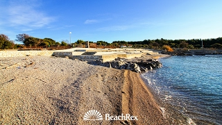 beach Politin, Krk, island Krk, Croatia