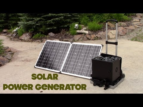 Patriot Portable Solar Generator 1500W with 2 Panels
