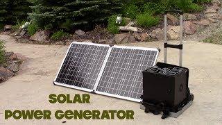 Patriot Portable Solar Generator 1500W with 2 Panels