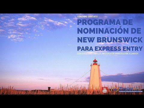El Programa de Nominación Provincial de New Brunswick para Express Entry | Emigrar a Canadá